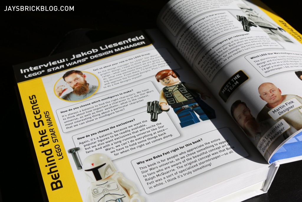 LEGO Star Wars Character Encyclopedia Update and Expanded Interview