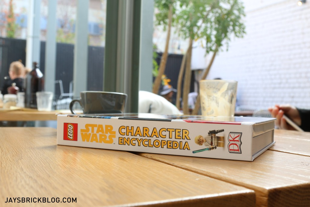 LEGO Star Wars Character Encyclopedia Update and Expanded Spine