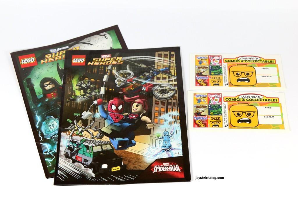 May 2015 Brickpak - Comics and Stickers