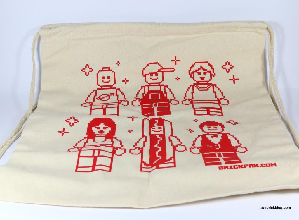 May 2015 Brickpak - Drawstring Bag