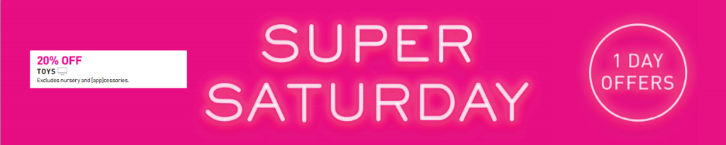 Myer Super Saturday LEGO Sale 22 May 2015