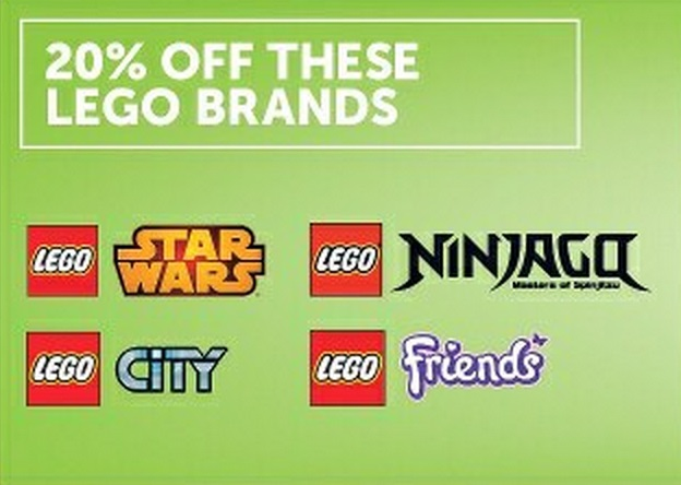 Target LEGO Sale May 2015