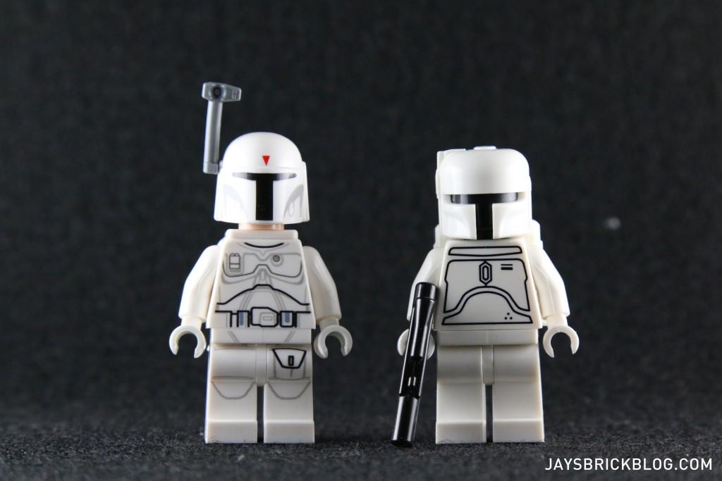White Boba Fett 2015 Minifigure Comparison