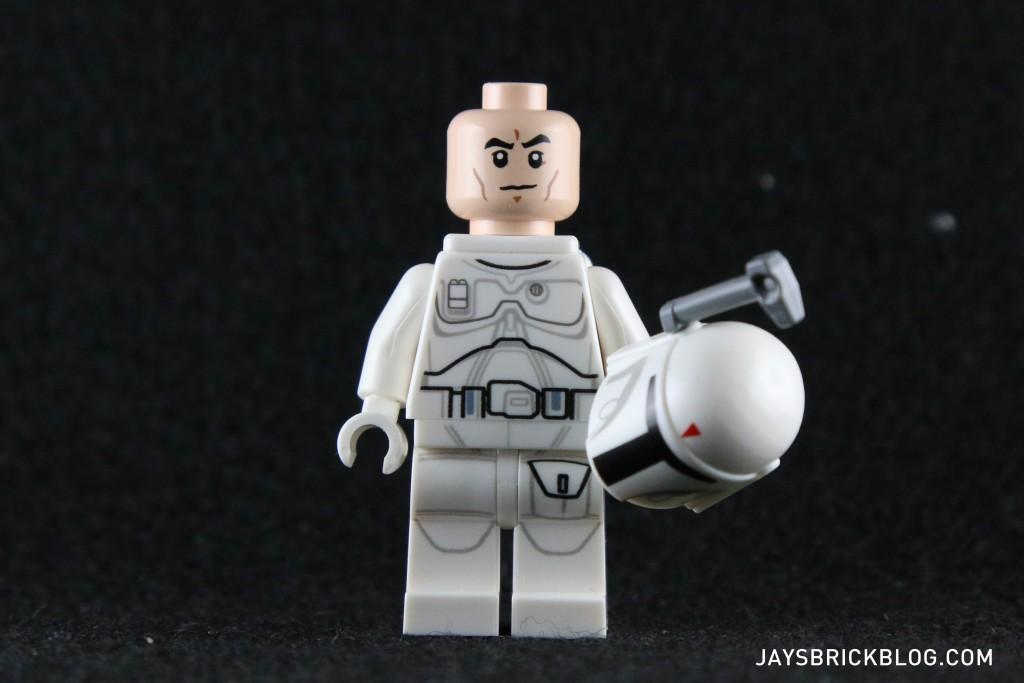 White Boba Fett 2015 Minifigure Face