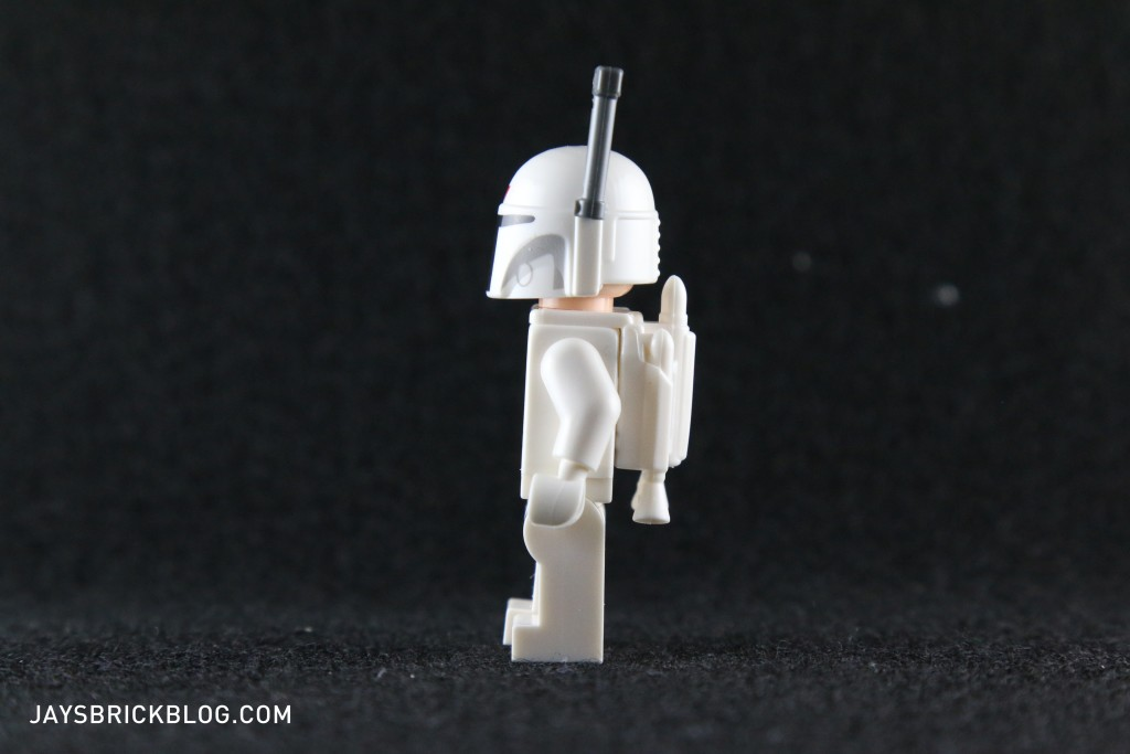 White Boba Fett 2015 Minifigure Side