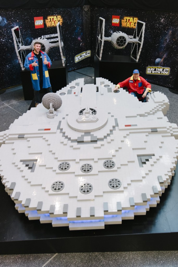 Worlds Largest LEGO Millenium Falcon 2