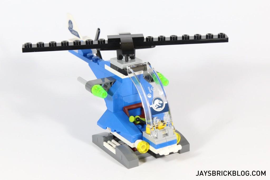 7 LEGO 75919 Indominus Rex Breakout - Helicoper