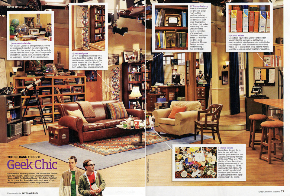 Big Bang Theory Living Room