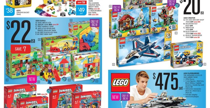 Australian LEGO Sales June 2015 – Mid Year Toy Sale Edition