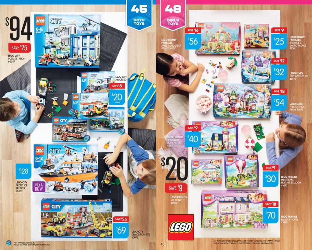 Big W Toy Sale 2015 LEGO Catalogue Deals 2