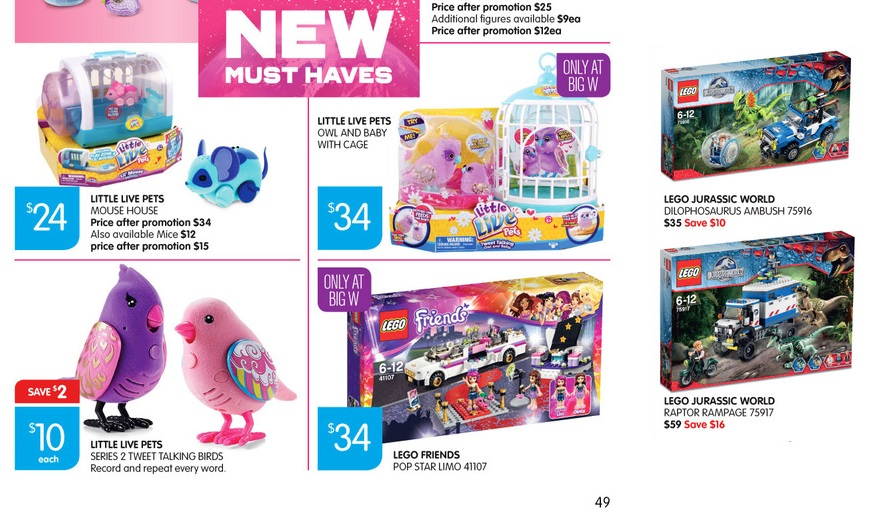 Big W Toy Sale 2015 LEGO Catalogue Deals 4