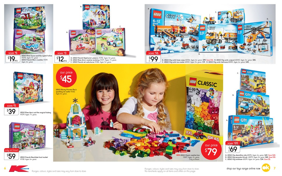 Kmart Toy Sale 2015 LEGO Deals 2