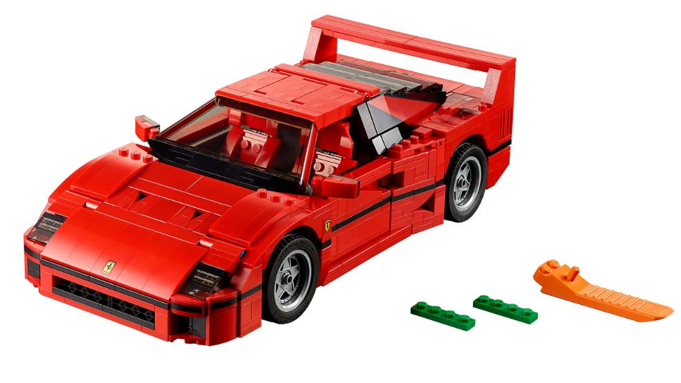 first look at the sexy new 10248 lego ferrari f40. Black Bedroom Furniture Sets. Home Design Ideas