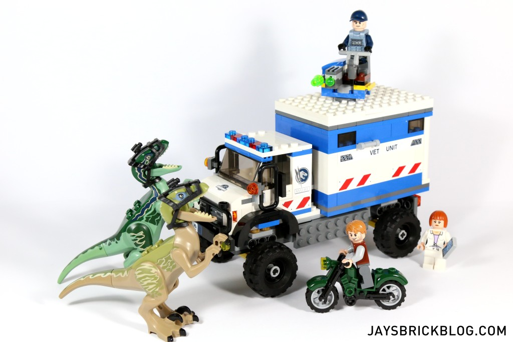 Review: LEGO 75917 – Raptor Rampage