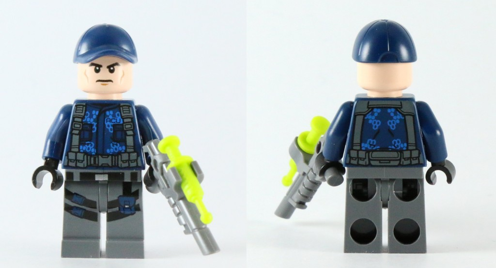 LEGO 75917 Raptor Rampage - ACU Trooper Torso Printing