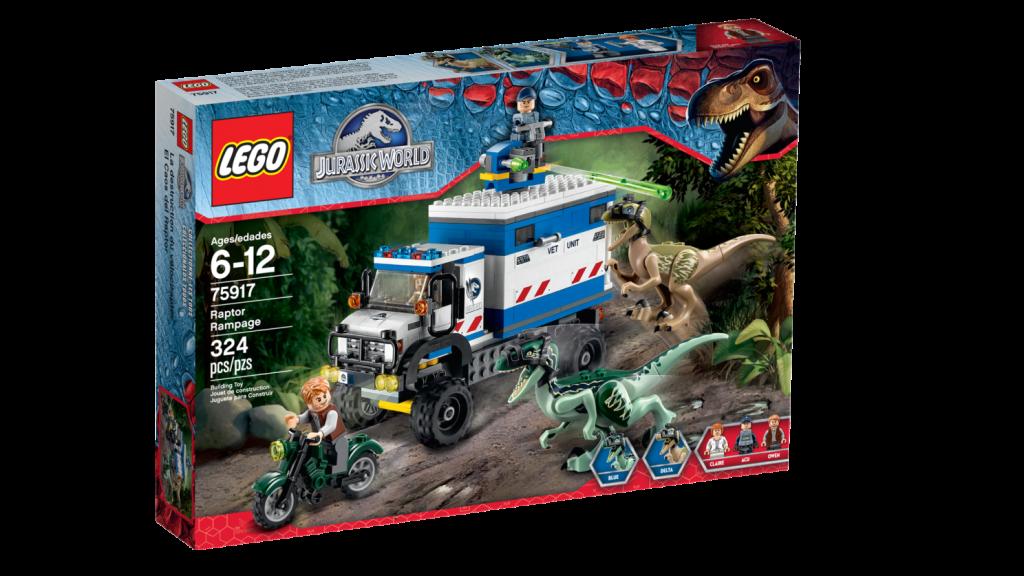 LEGO 75917 Raptor Rampage - Box