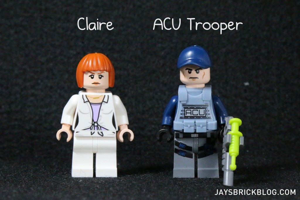 LEGO 75917 Raptor Rampage - Claire and ACU Trooper Minifigures