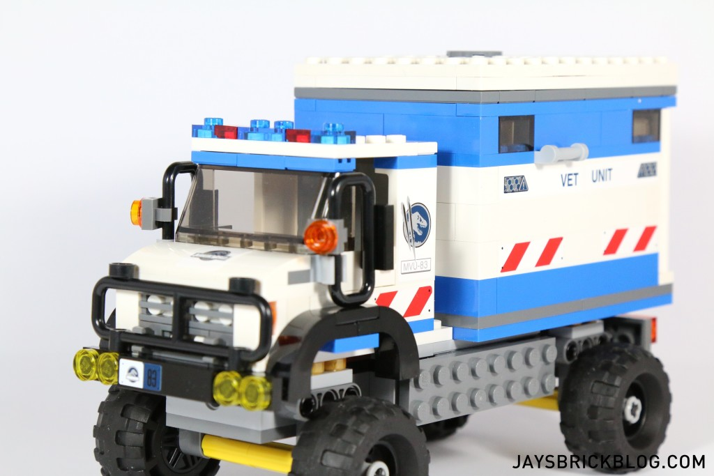 LEGO 75917 Raptor Rampage - Mobile Vet Unit