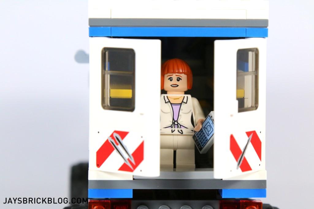 LEGO 75917 Raptor Rampage - Mobile Vet Unit Back Doors