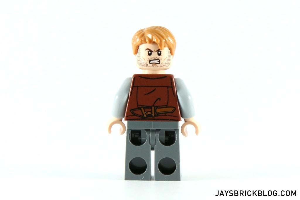 LEGO 75917 Raptor Rampage - Owen Minifigure Back