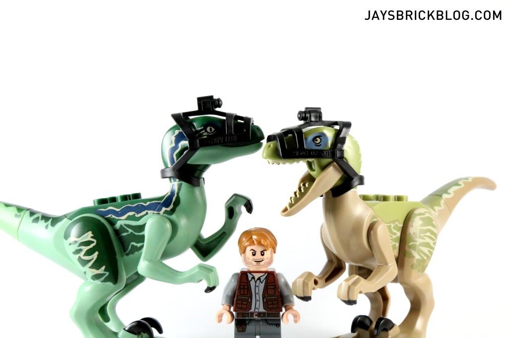 LEGO 75917 Raptor Rampage - Owen and Raptors