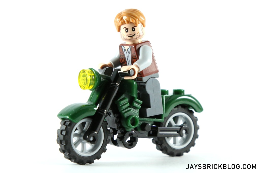 LEGO 75917 Raptor Rampage - Owen on motorbike