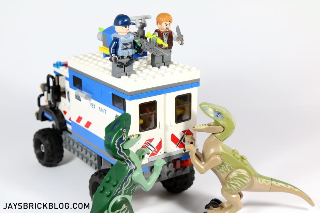 LEGO 75917 Raptor Rampage - Raptor Claw Marks