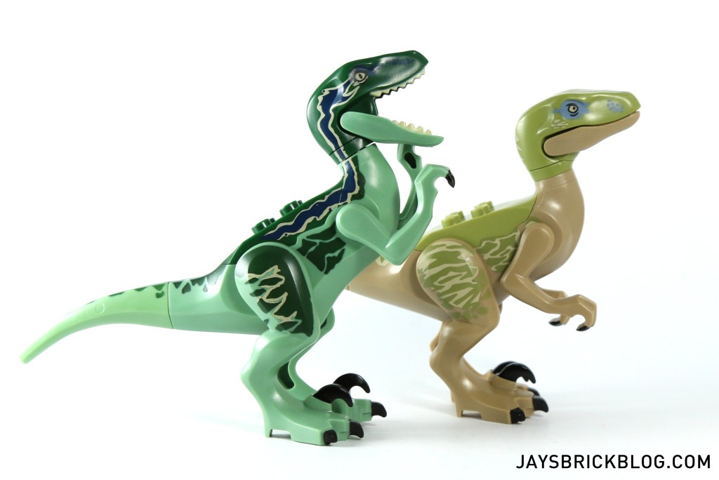 LEGO 75917 Raptor Rampage - Velociraptors