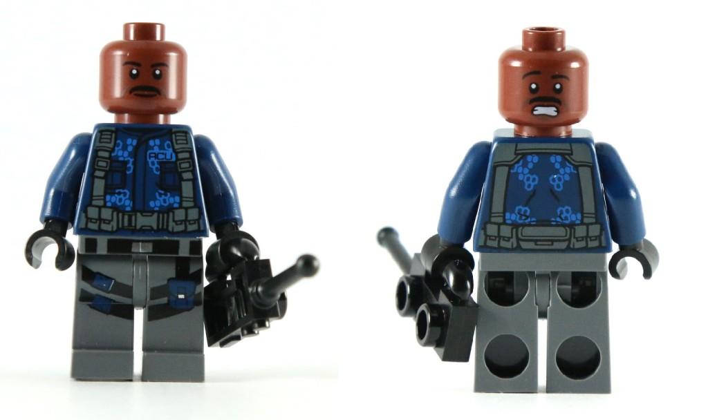 LEGO 75919 Indominus Rex Breakout - ACU Trooper Alternate Face