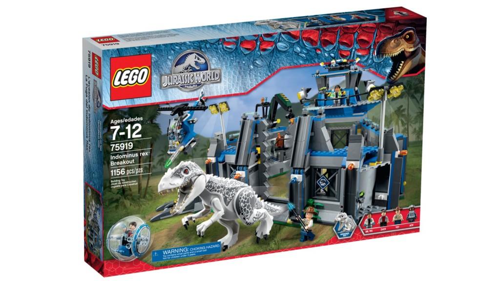 LEGO 75919 Indominus Rex Breakout - Box