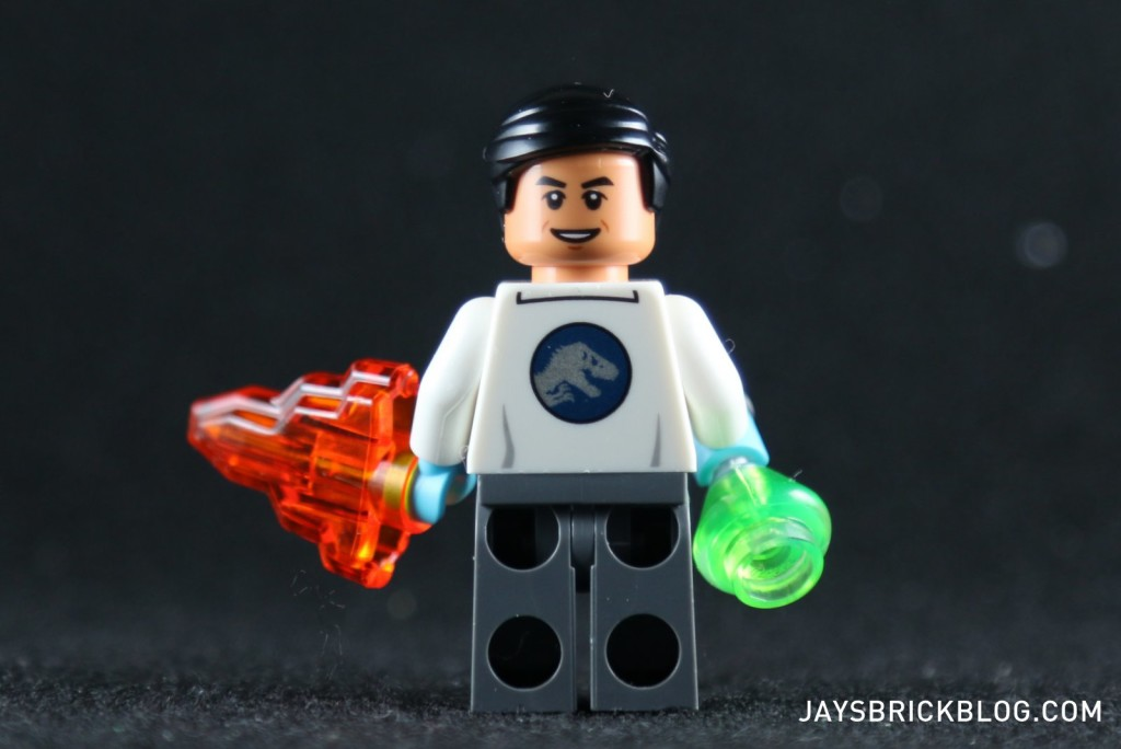LEGO 75919 Indominus Rex Breakout - Dr Wu Minifigure Alternate Face