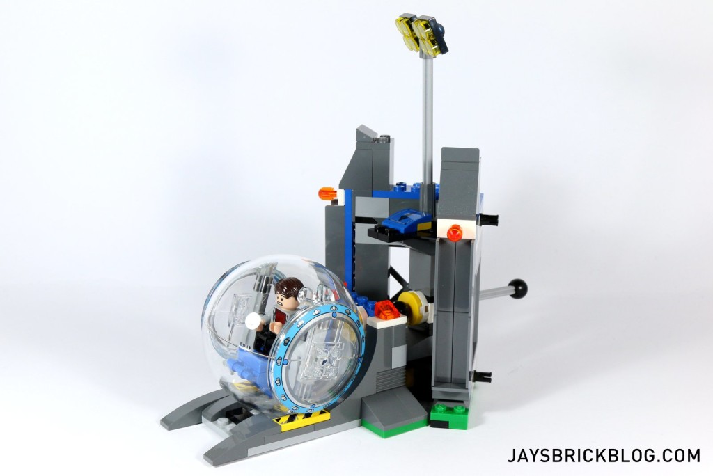 LEGO 75919 Indominus Rex Breakout - Gyrosphere Wall Section