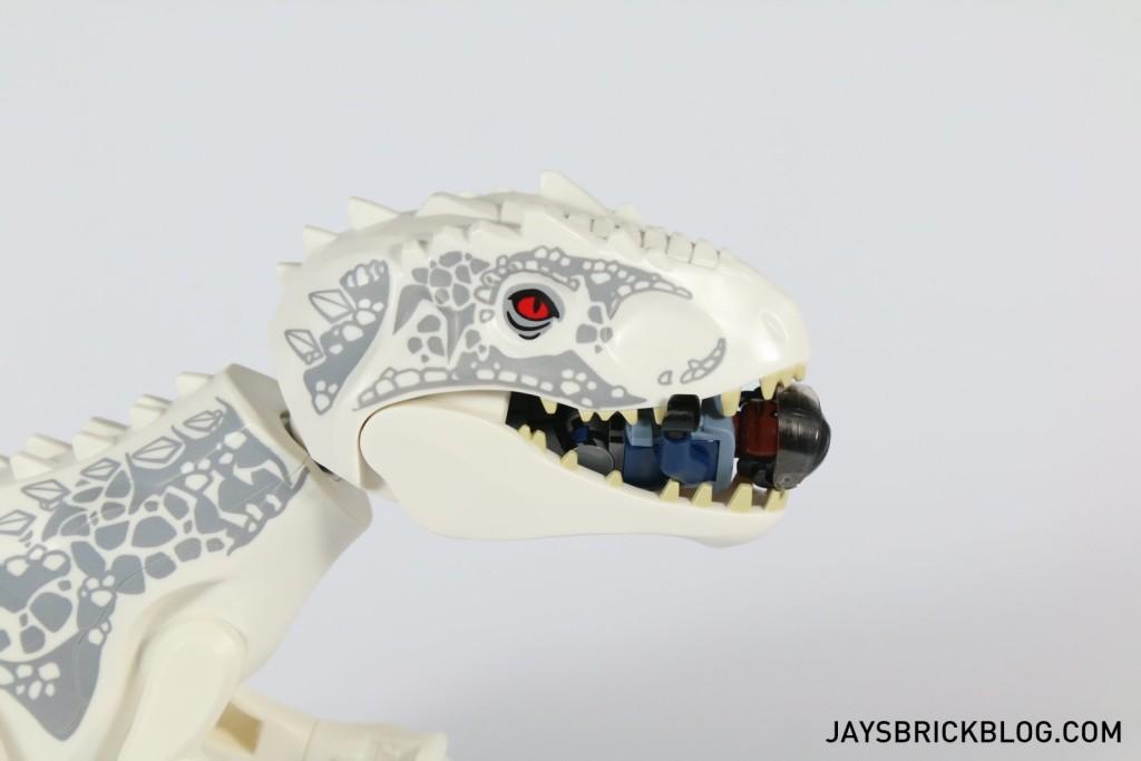 LEGO 75919 Indominus Rex Breakout - I-Rex Chewing ACU Trooper