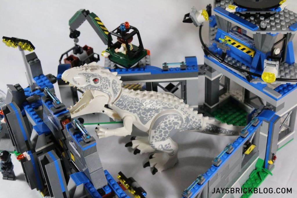 LEGO 75919 Indominus Rex Breakout - I-Rex Tight Fit