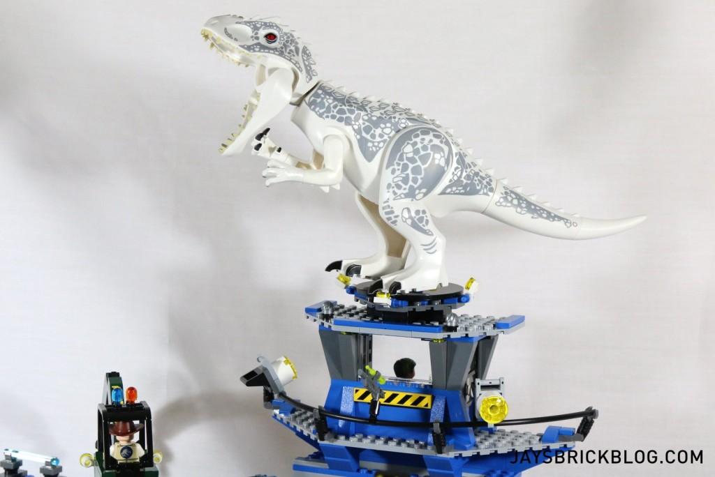 LEGO 75919 Indominus Rex Breakout - I-Rex on Helipad