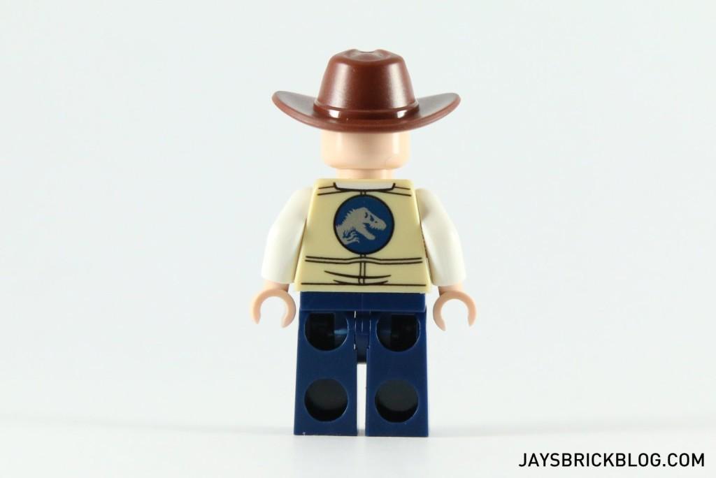 LEGO 75919 Indominus Rex Breakout - Vet Minifigure Back