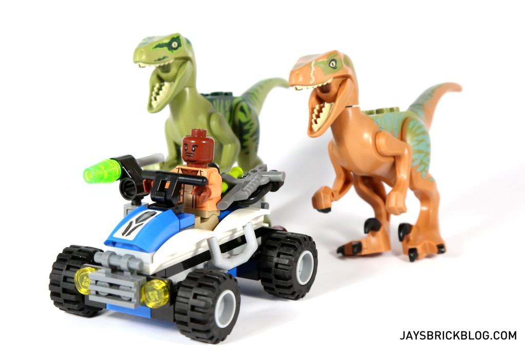 LEGO 75920 Raptor Escape - Barry, Charlie and Echo going for a ride