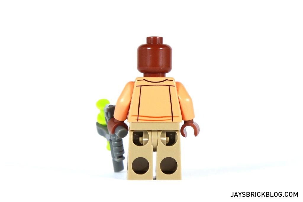 LEGO 75920 Raptor Escape - Barry Minifigure Back