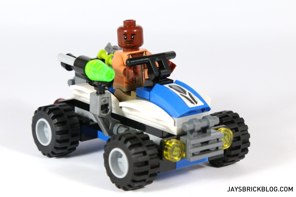 LEGO 75920 Raptor Escape - Barry and his Offroader ATV