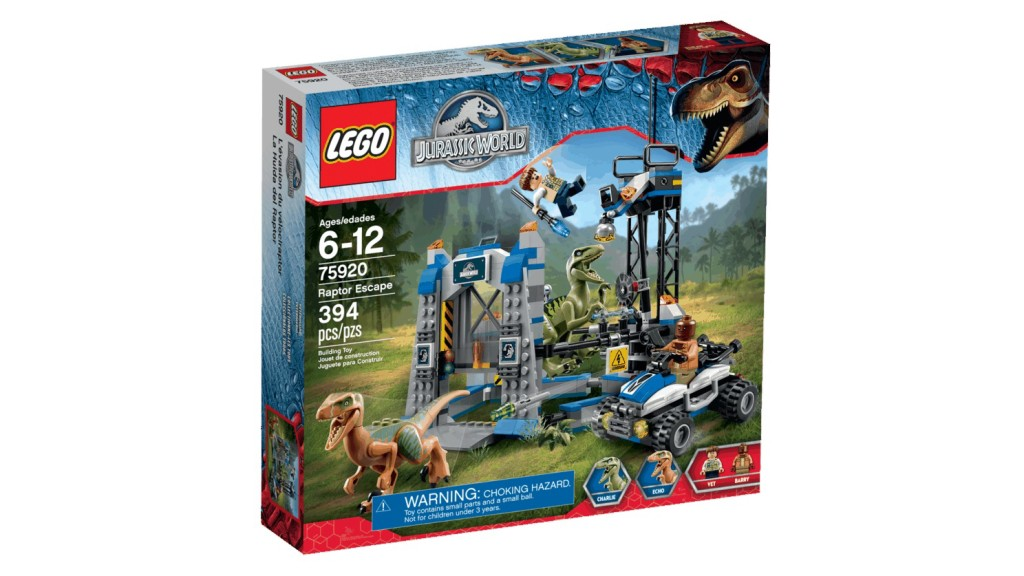 LEGO 75920 Raptor Escape - Box Art