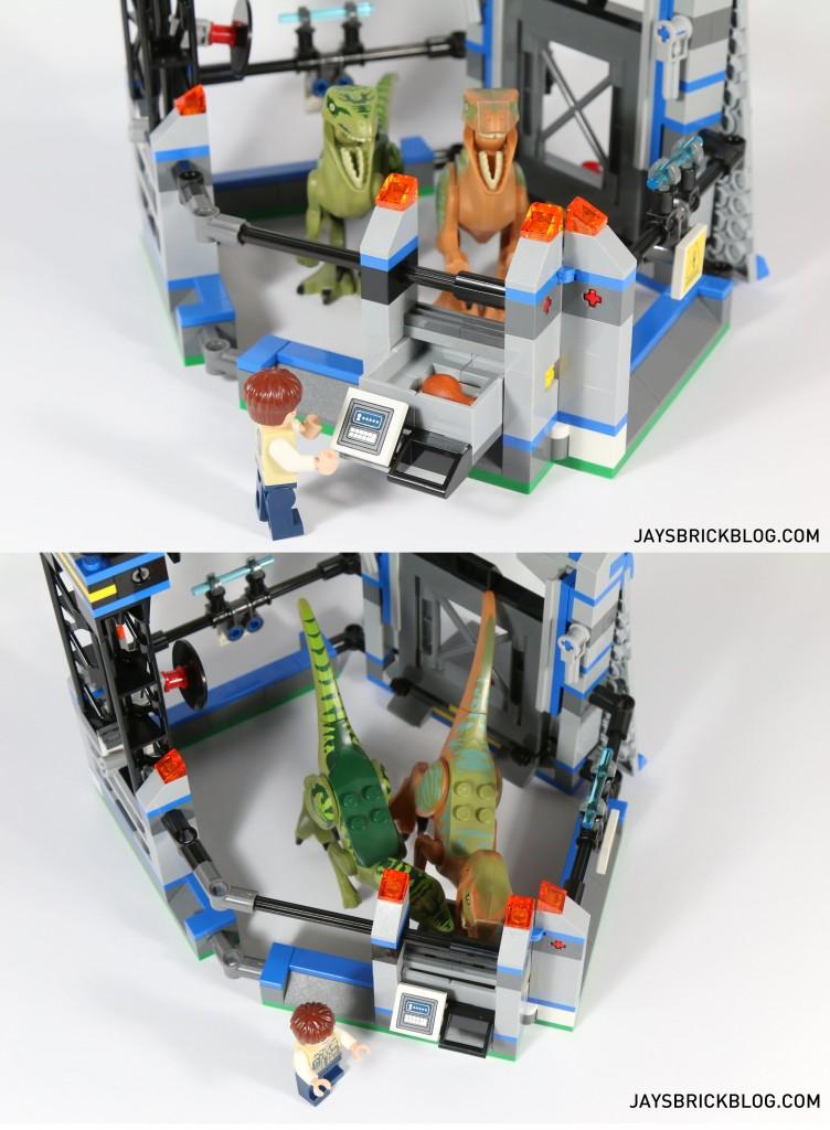 LEGO 75920 Raptor Escape - Feeding Mechanism