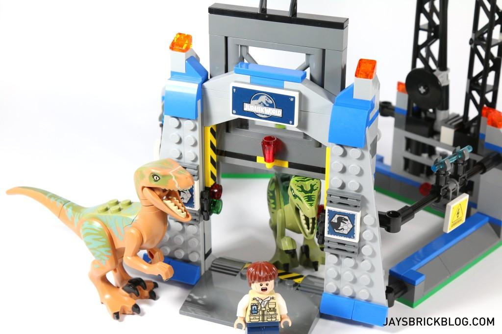 LEGO 75920 Raptor Escape - Gate