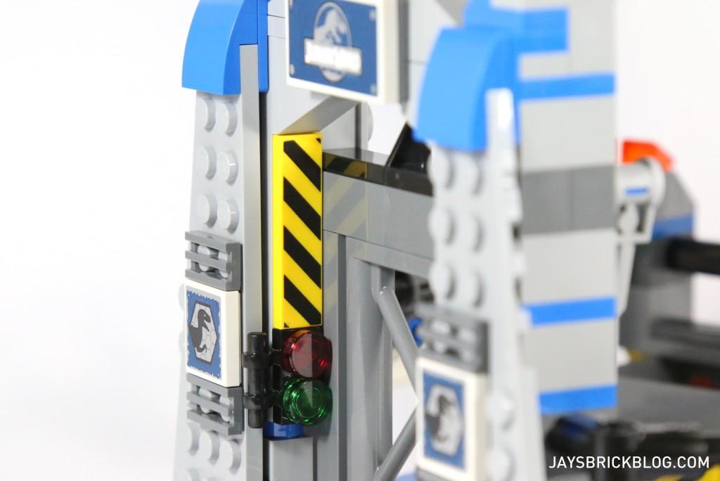 LEGO 75920 Raptor Escape - Printed Tile