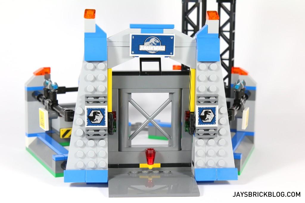 LEGO 75920 Raptor Escape - Raptor Pen Gate