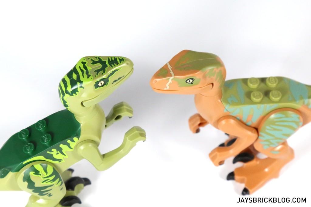 LEGO 75920 Raptor Escape - Velociraptor Head Printing