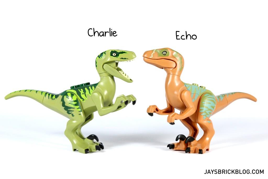 LEGO 75920 Raptor Escape - Velociraptors Charlie & Echo