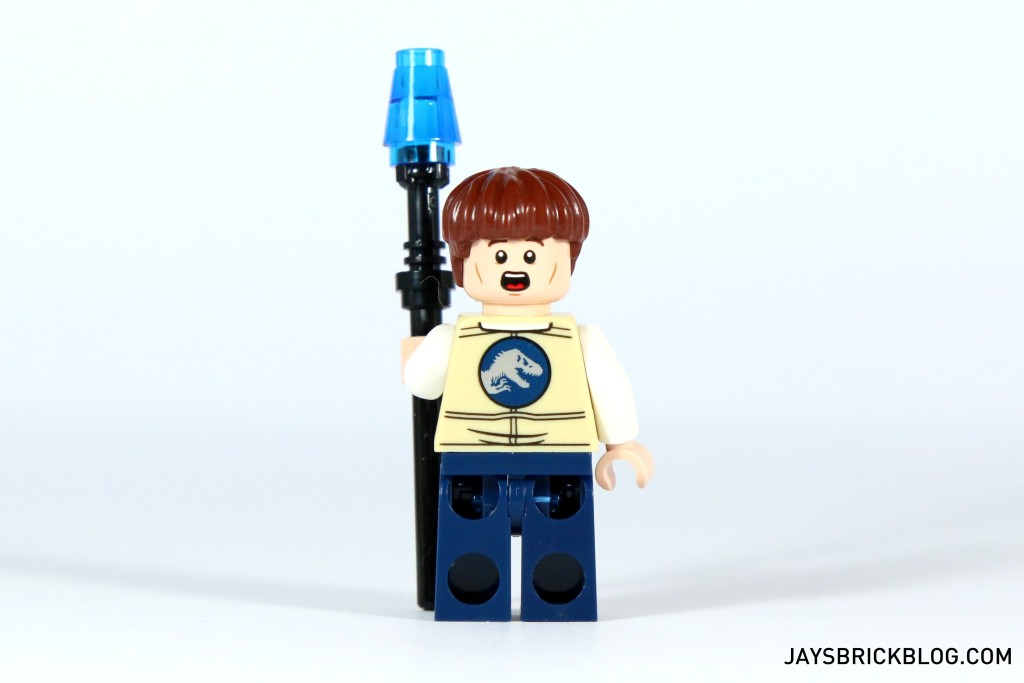 LEGO 75920 Raptor Escape - Vet Minifig Back
