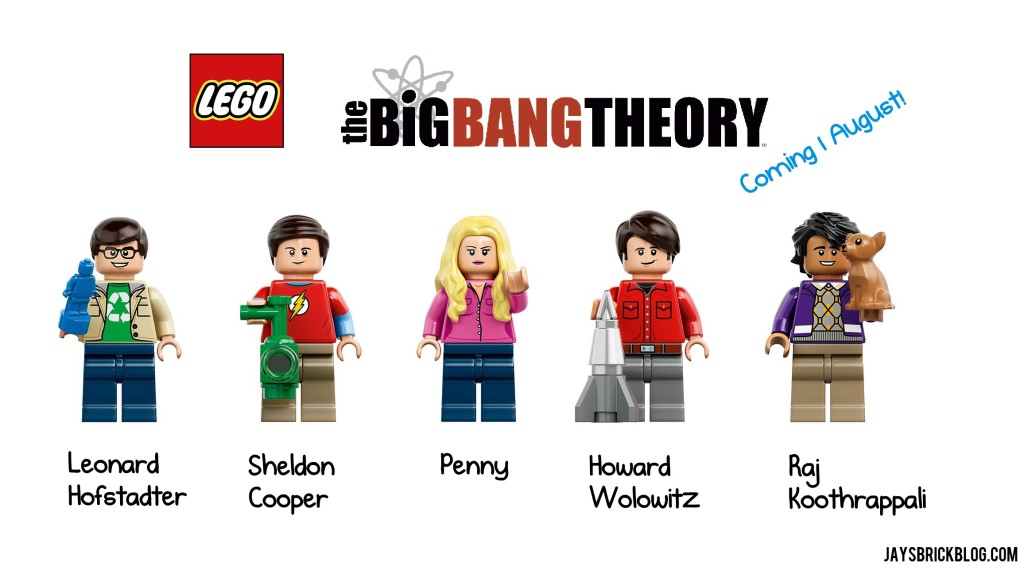 LEGO Big Bang Theory Characters Minifigures