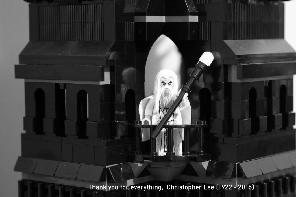 LEGO Christopher Lee tribute