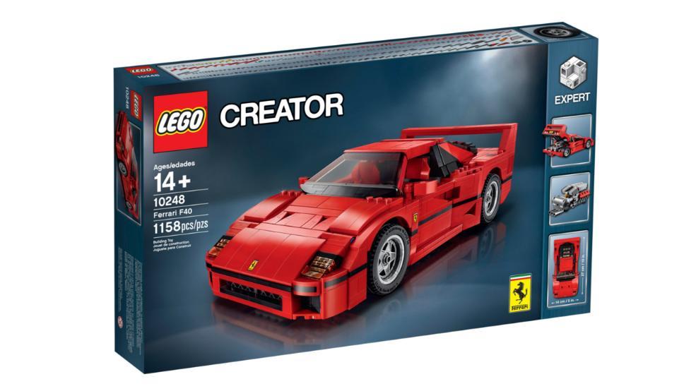 LEGO Ferrari F40 Box